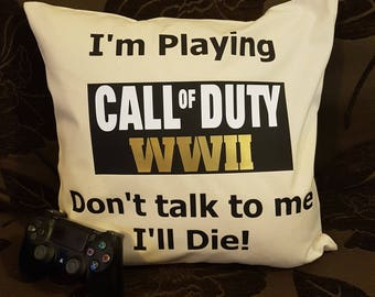 Call of Duty Cushion Cover