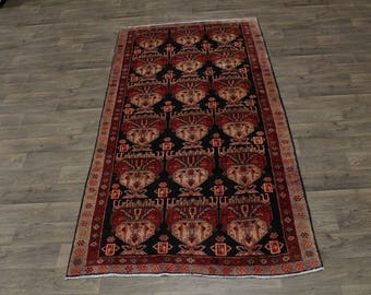 Unique Pattern S Antique Handmade Meshkin Persian Rug Oriental Area Carpet 5X10
