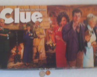 Vintage Clue Game, Vintage Family Game, Game Night, A Whodunit Game, Vintage Family Game for the Whole Family