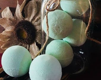 Bombs Away Toilet Bombs - Toilet Fizzies - Natural Cleaner - Toilet Cleaner - Toilet Air Fresheners - Bathroom Decor - Natural Bathroom