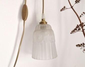 Lamp light art deco