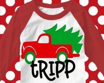 Christmas truck svg, truck svg, Christmas svg, Christmas tree svg, christmas SVG file, boys Christmas svg, iron on, svg, dxf, eps, dxf file