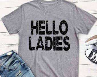 boy's Valentine's svg, Hello Ladies svg, Grunge SVG, DXF, EPS, svg, Valentine svg, kids svg,  funny svg, boys, boy's, Valentine's Day shirt