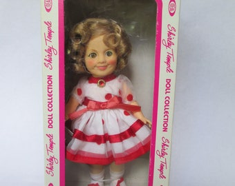 Shirley Temple Doll Vintage 1982 by Ideal NRFB