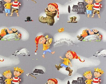 The boots seven places - children fabric