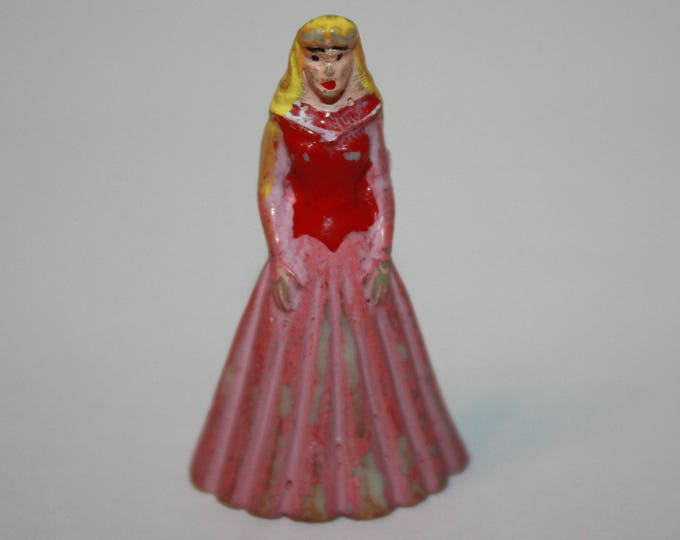 Vintage Disney Marx Sleeping Beauty Disneykins Miniature Figure 1960's