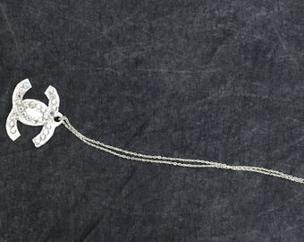 Chanel inspired Pearl Necklace