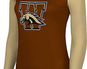 ProSphere Women's Western Michigan University Crisscross Long Sleeve Tee (WMU)
