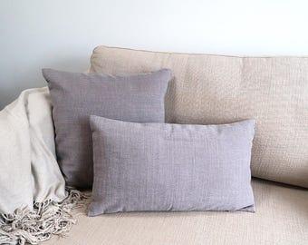 Mauve cushion cover, Throw cushion cover, Scatter cushion cover, Throw pillow cover, Decorative pillow cover