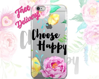FREE SHIPPING Happy Phone Case iPhone 7/7+/6/6S/6+/6S+65/SE, Galaxy S8/8+/7/7Edge/6/6Edge/5/Note5/J7Prime, Huawei P8/8PLite2016/P9/P9Lite