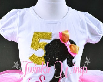 Barbie  1st 2nd 3rd 4th 5th 6th Birthday Party Personalized T shirt Onesie  Size 12M 24M 2T 3T 4T 5T 6T