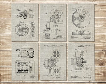 Movie Room Art, Patent Print Group, Cinema Studio Art, Hollywood Printable,Cinema Art Poster,Cinema Art Print,Cinema Print, INSTANT DOWNLOAD