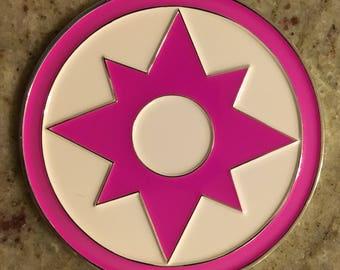LOVE Sapphire Lantern Corps Challenge Coins
