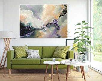 Original Large Abstract Oil Painting Large Wall Art Gold Painting Modern Art Original Painting Abstract Painting On Canvas by Julia Kotenko