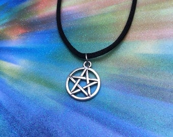 pentagram choker or necklace