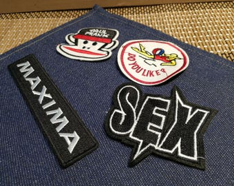 Wholesale Clearance Vintage Embroidery Patches, Towel Patches, Sew on Patches, Iron on Patches