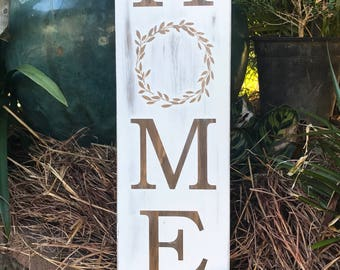 Home Sign | Farmhouse Decor | Wooden Home Sign | Rustic Home Sign | Rustic Decor | Home Decor | Farmhouse Sign | New Home | Housewarming
