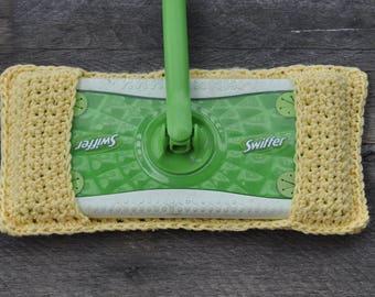Crochet Swiffer - Reusable Swiffer Pads - Swiffer Pads - Crochet Swiffer Cover -Wedding Gifts - Green Cleaning - Crochet Swiffer Pads