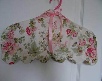 cache romantic fabric hanger cover