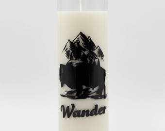Decorative Candle - Soy Candle