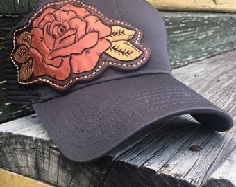 Texas Rose Trucker Cap