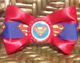 Boys character bow tie, girls character hair bow, dog bow tie