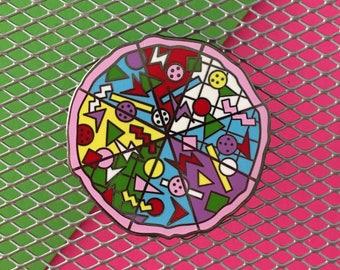 Rad Pizza - Enamel Pin - Limited Edition
