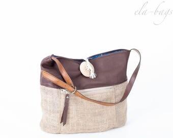 Coffee sack bag boho hippie 90