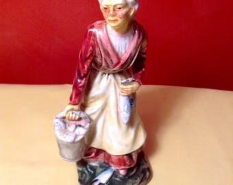 Old lady figurine