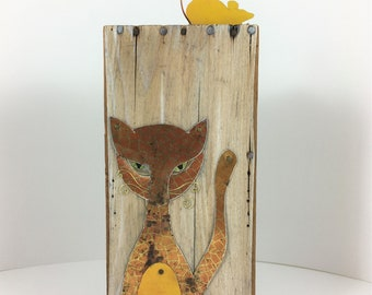 We Are Not Amused!, Assemblage Art, Mixed Media Art