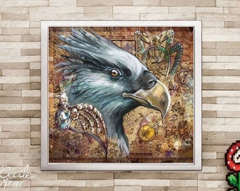 Limited edition poster Hippogriff