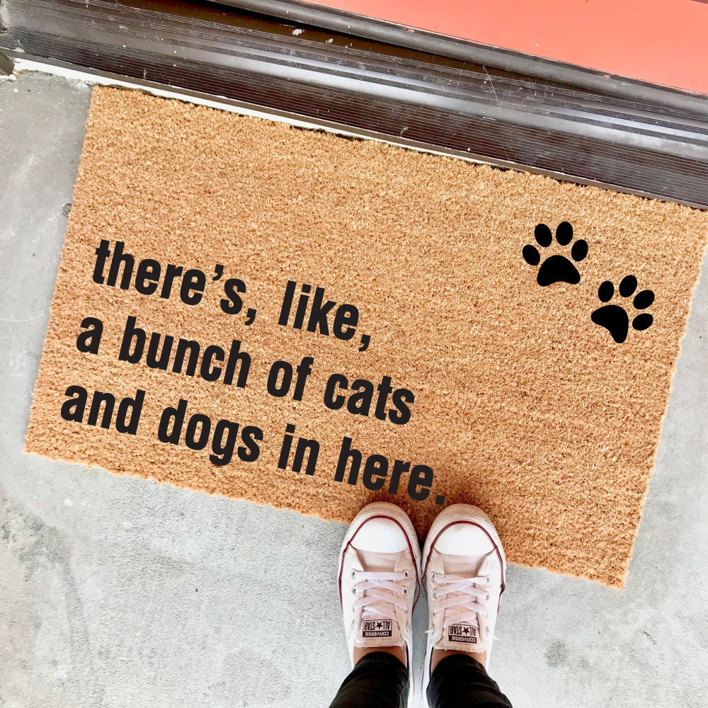 Doormat There S Like A Bunch Of Dogs In Here