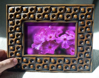 Wooden Photo Frame Wood Carving Valentine Day Picture Frames Gifts Hardwood PhotoFrame Birthday Father Mother Day Gift