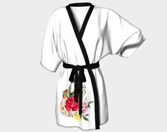 Bouquet Kimono Robe