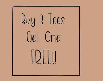 Buy 3 tshirts Get One FREE, FREE SHIPPING!, Christmas Shopping Deal, Coffee T Shirt, Heavy Metal Clothing, Gothic Clothing, Horror Clothing