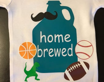 Home Brewed Onesie for Boy