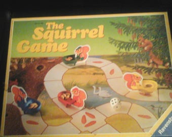 Vintage The squirrel game 1987