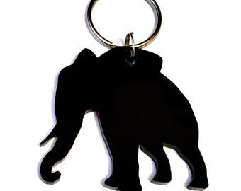 Handmade elephant keyring/lanyard/keychain/bag charm