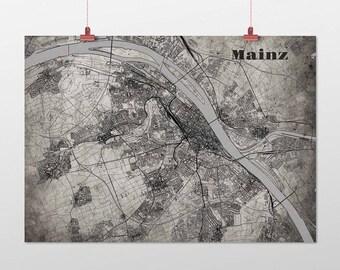 Mainz - A4 / A3 - print - OldSchool