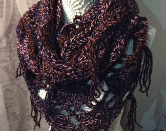 Infinity shawl scarf