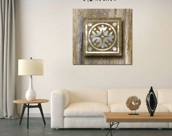 Gold Abstract Artwork