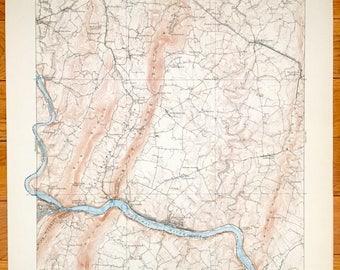 Antietam Etsy - Antietam battle us map