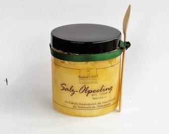 Salt Oil Body Scrub