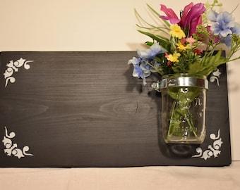 Chalkboard with Jar