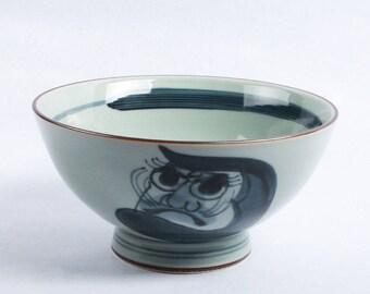Japanese pottery- Hasami ware- Domburi rice bowl