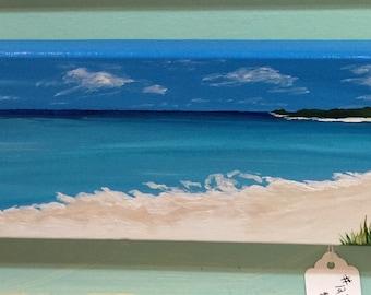 Coastal Home Decor, Nautical Decor, Seaside Painting, Coastal Wall Art, Beach Art, Canvas Painting, Ocean Art Painting, Coastal Paradise