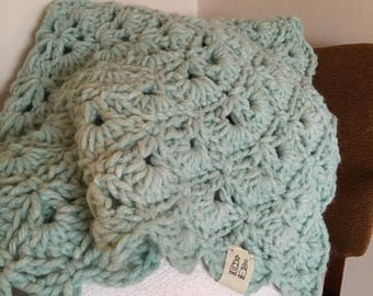 Lil' Dutchie Baby Blanket: Mint Green Shell