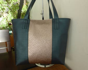 Elegant diligently fancy faux leather handbag.