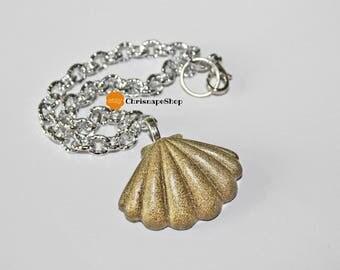 ' Shell ' resin bracelet