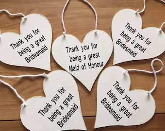 Thank you for being a great made of honour sign, made of honour gift, bridesmaid gift, made of honour plaque